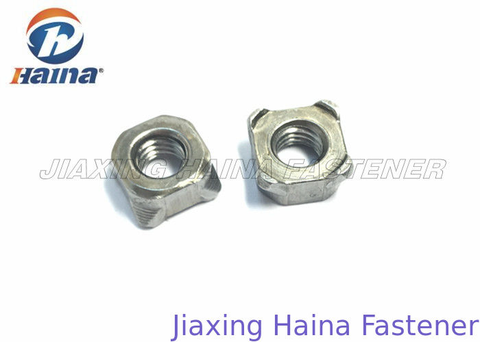 Plain Finish Hex Head Nuts Carbon Steel Gr4 For Mechanics Industry OEM / ODM