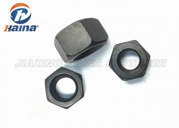 DIN 555 Black Oxide Finished Heavy Hex Head Nuts Grade 8.8 Grade 12.8