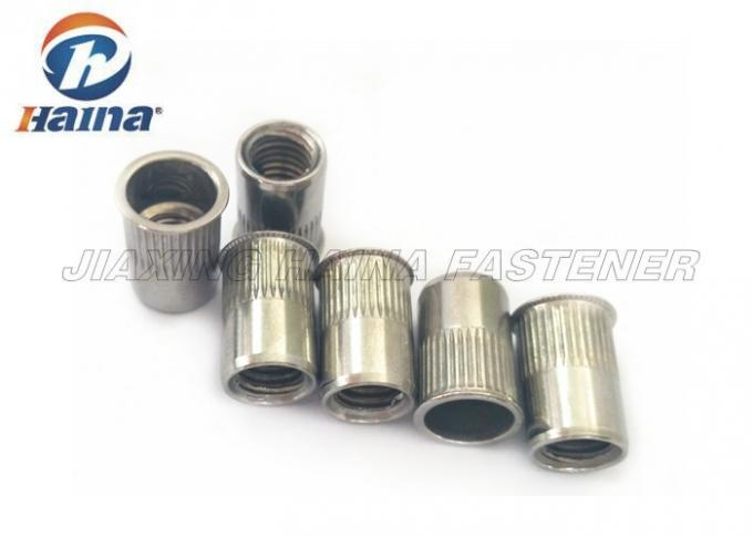 Different Types Blind Rivets Nuts Customized Cold Forging Fine Thread For Furniture