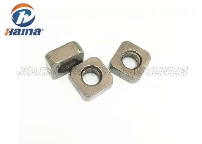 Standard Fastener Stainless Steel Nuts M5 - M12 For Bed Frame Cold Forging / Hot Forging